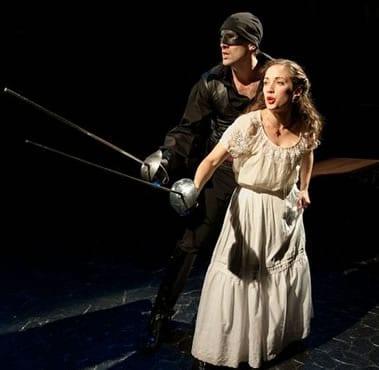 Danny Gavigan as Zorro and