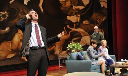 (foreground) Tim Getman as Alan (Photo: Stan Barouh)