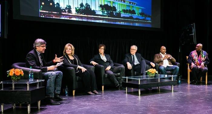 Artist Symposium 1 - Mo Rocca - Deborah Voigt - Ben Folds - John Lithgow - Terence Blanchard - Judith Jamison (photo: Yassine El Mansouri)