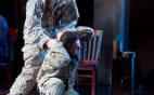 Trevor Scheunemann as Sgt. Marcum and Andrew Stenson as Danny Chen (photo: Scott Suchman)