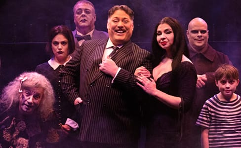 The Addams Family at Toby's, kooky and terrific