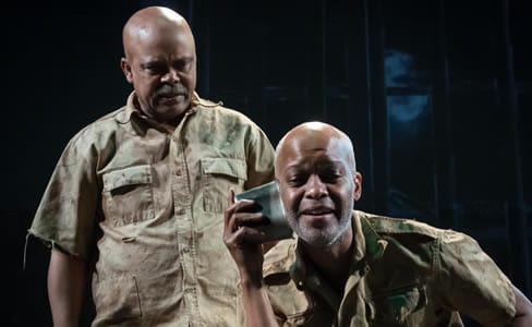 Shattering performances of Fugard's The Island at MetroStage