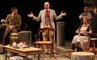 (l-r) Ryan Rilette, Mitchell Hébert, Mark Jaster and Nancy Robinette in Round House Theatre's Uncle Vanya. (Photo: Danisha Crosby)