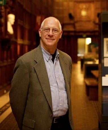 David S. Kessler, recipient of the Gary Maker Audience Award, at Folger Library (Photo: Ryan Maxwell)