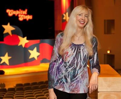 Elaina Newport, comedy writer for Capitol Steps (Photo courtesy of Capitol Steps)