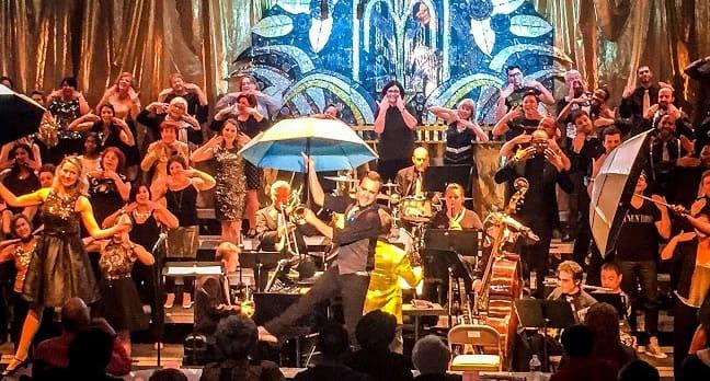 Congressional Chorus extravaganza Tinseltown: A Hollywood Cabaret (Photo courtesy of Congressional Chorus