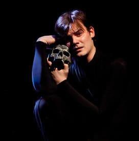 Alex Mills as Hamlet, Synetic Theatre (Photo: Koko Lanham)