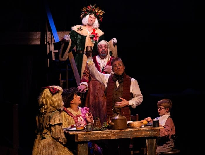 Members of the cast of A Christmas Carol: The Musical (Photo: Jeri Tidwell Photography)