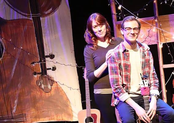 Helen Murray Pafumi and Eli Pafumi team up for The Magi at Hub Theatre (Photo: DJ Corey)