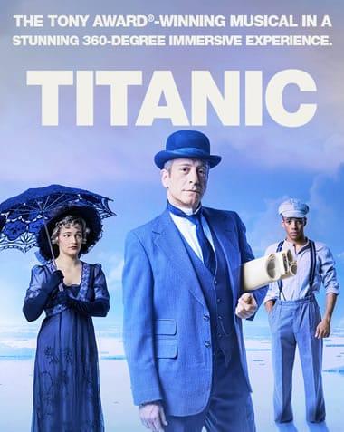 Poster for Titanic at Signature Theatre