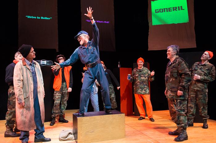 lumina studio 39 s adapted lear review dc theatre scene