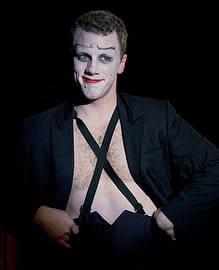 Paul Scanlan as Emcee (Photo: C. Stanley Photography)
