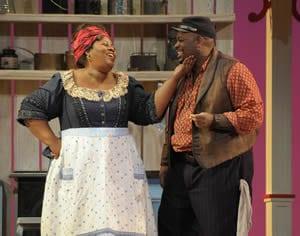 Angela Renee Simpson and Morris Robinson (photo: Dan Rest)