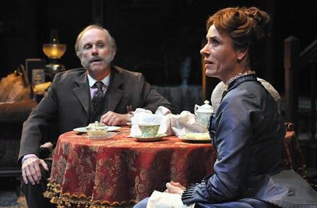 Alan Wade  and Julie-Ann Elliott (Photo:  Stan Barouh)