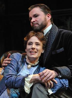 Julie-Ann Elliott and Jeffries Thaiss (Photo:  Stan Barouh)