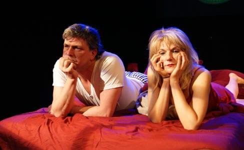 Doug Krehbel and Karin Rosnizeck (Photo: courtesy of Ambassador Theater