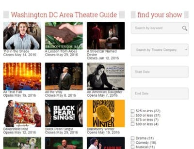 theatre guide tiny