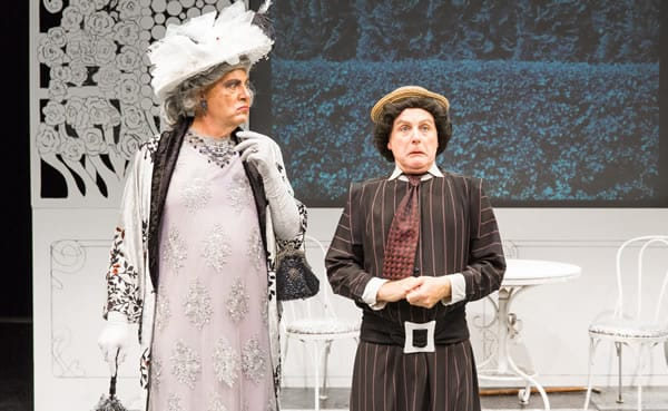 (l-r) Brian Hemmingsen and David Bryan Jackson in The Importance of Being Earnest from SCENA Theatre