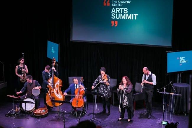 Yo Yo Ma and the Silk Road Ensemble at the 2016 Kennedy Center Arts Summit