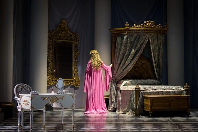 Amanda Majeski as Countess Almaviva in in The Marriage of Figaro by Washington National Opera.. (Photo by Scott Suchman)