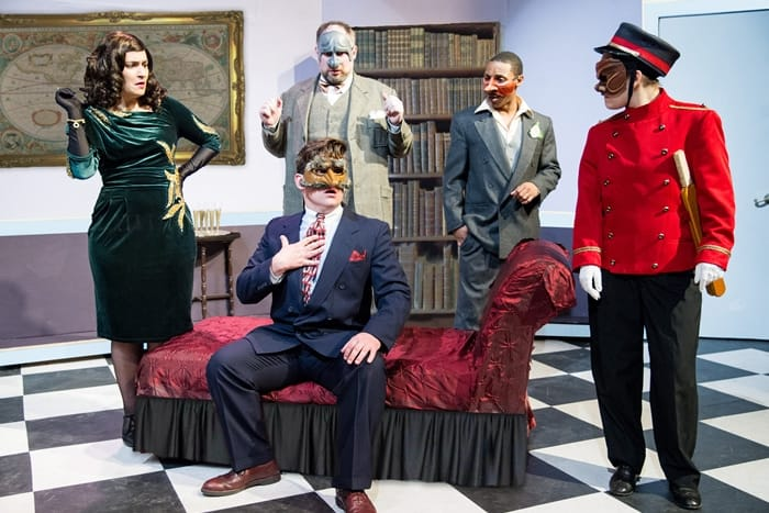 Review: Faction of Fools' whodunnit, The Great Commedia Hotel Murder Mystery